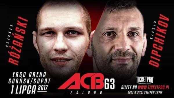 Никола Дипчиков ще се бие на ACB 63 в Полша