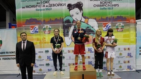 Еми-Мари Тодорова спечели трета европейска титла в бокса