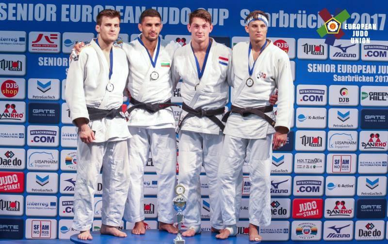 Ивайло Иванов отново на висота! Спечели европейската купа по джудо