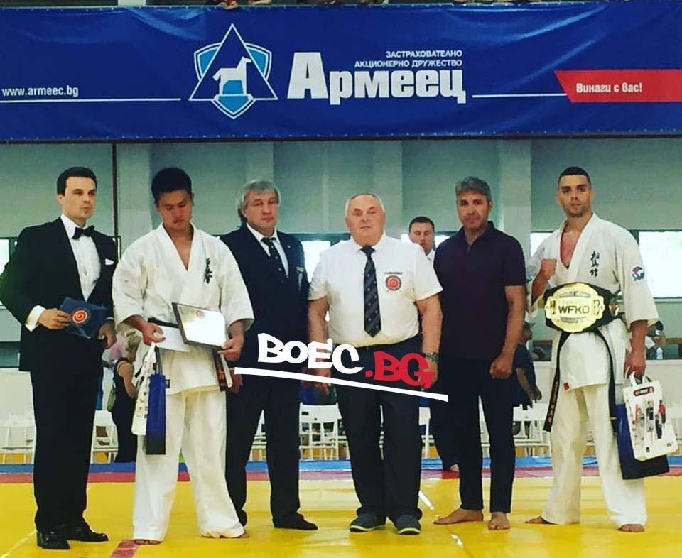 Николай Йоргов донесе българска победа на WFKO Grand Prix Kamcia 2017