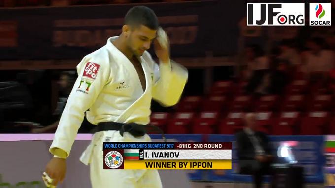 Ивайло Иванов започна ударно на Световното по джудо!