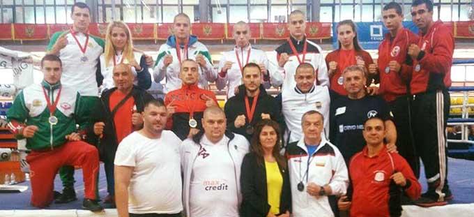 12 медала за България на Балканското по кикбокс!