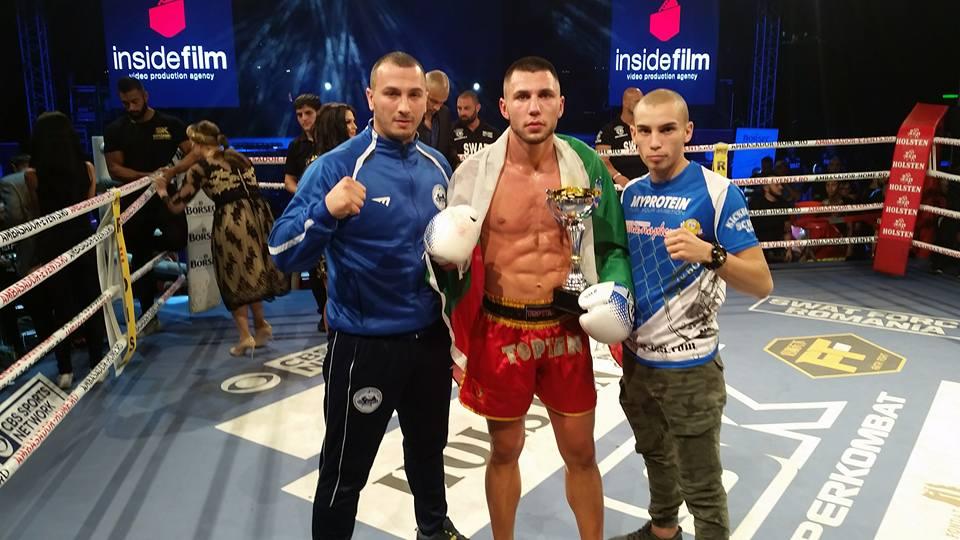 България ликува! Богдан Шумаров с убедителна победа в SuperKombat!