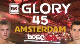 Продължаваме да пишем история: Копривленски ще се бие на GLORY 45 Амстердам!