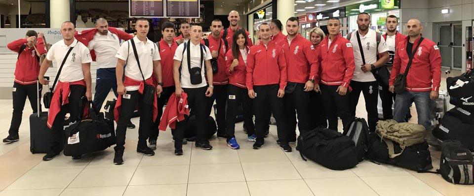 Националите ни по киокушин заминаха на двуседмичен тренировъчен лагер в Москва