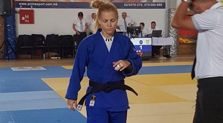 Магдалена Върбанова е на финал на балканските игри по джудо в Скопие