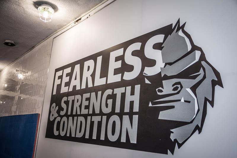 Врати отвори нова зала в Люлин – Fearless