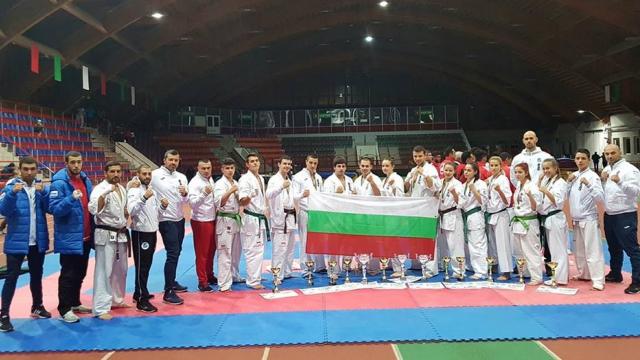 4 златни, 6 сребърни и 3 бронзови медала спечелиха киокушинците в Беларус
