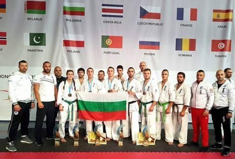 Любомира Николова е европейска шампионка по киокушин на KWF в Полша