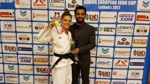 Темелкова донесе още един златен медал на Израел
