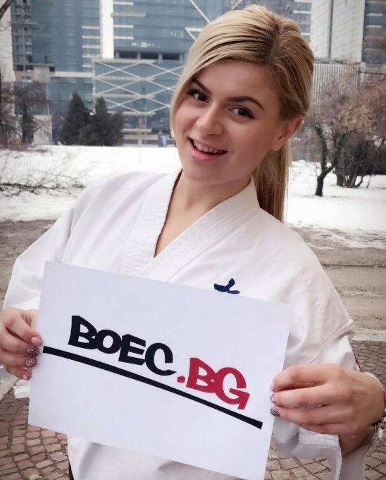 Михаела Иванова пред Boec.BG: Световната титла – това е голямата ми мечта!