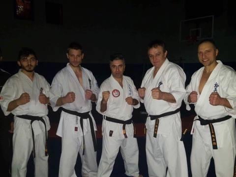 Българска карате киокушин федерация на посещение в Турция