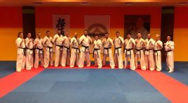 Националния отбор по киокушин на БККФ със сериозен лагер във Варна