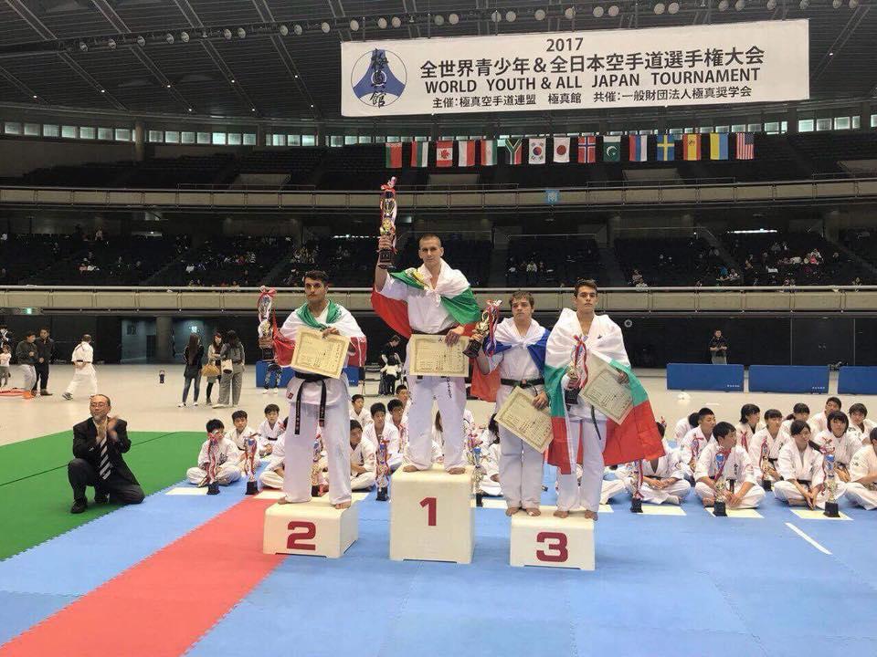 България има световен шампион по киокушин от Япония (СНИМКИ)