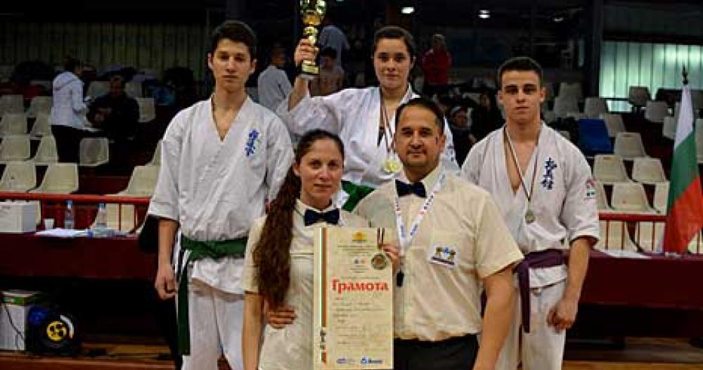Мариела Любенова с приз за изключителни спортни постижения
