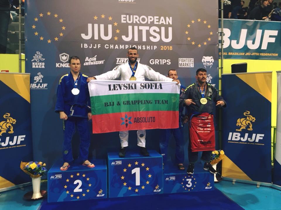 България има европейски шампион по жиу жицу