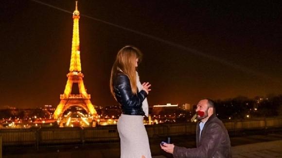 "Бетина Темелкова каза ""Да"" под Айфеловата кула"