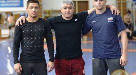 Трима наши борци тренират в школата в Махачкала