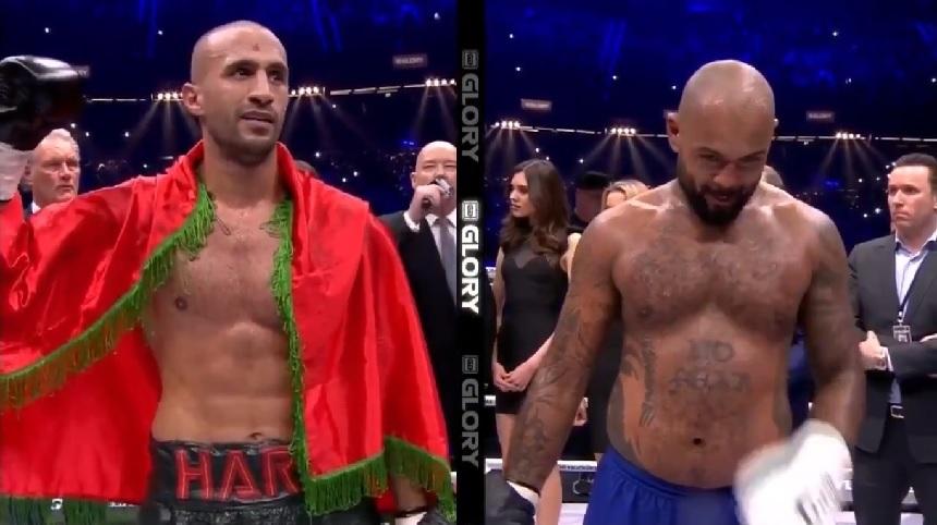 Badr Hari победи Hesdy Gerges и предизвика Rico Verhoeven за реванш! (ВИДЕО)
