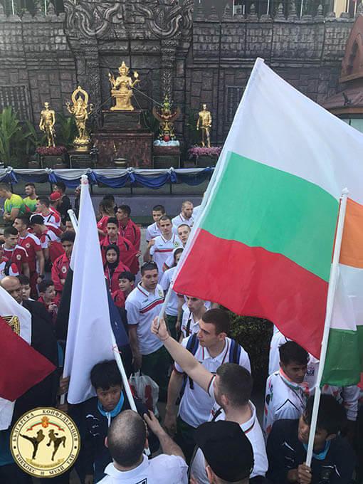 Много силен втори състезателен ден за националите по муай тай на световното в Тайланд