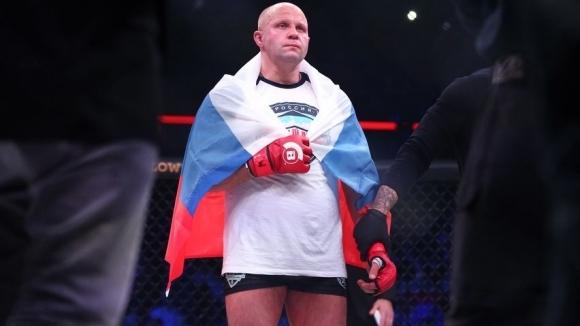 Емеляненко нокаутира Сонен в края на първия рунд