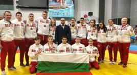 България с добро представяне от европейското първенство по самбо за младежи и девойки