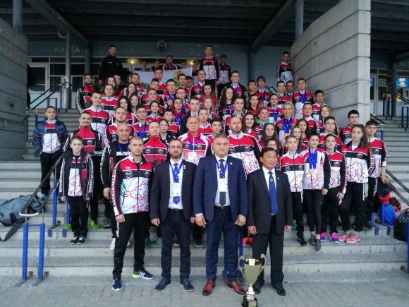 11 титли и 37 медала за България от на европейското по таекуондо ITF