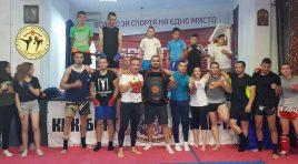 "Димитър Спасов посети СК ""Патриот"", награди Добри Радев и потренира"