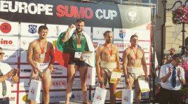 Пенчо Дочев – носител на европейска купа по сумо от Кротушин, Полша