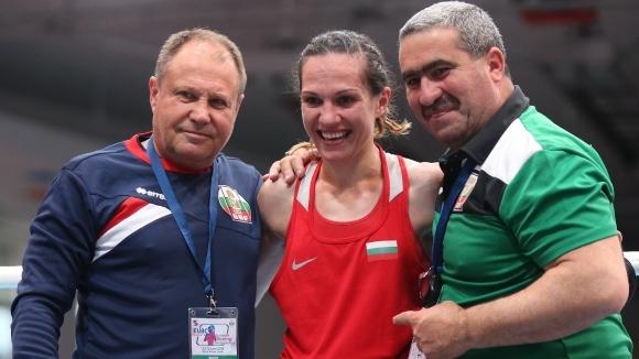 Станимира Петрова е на полуфинал след убедителна победа