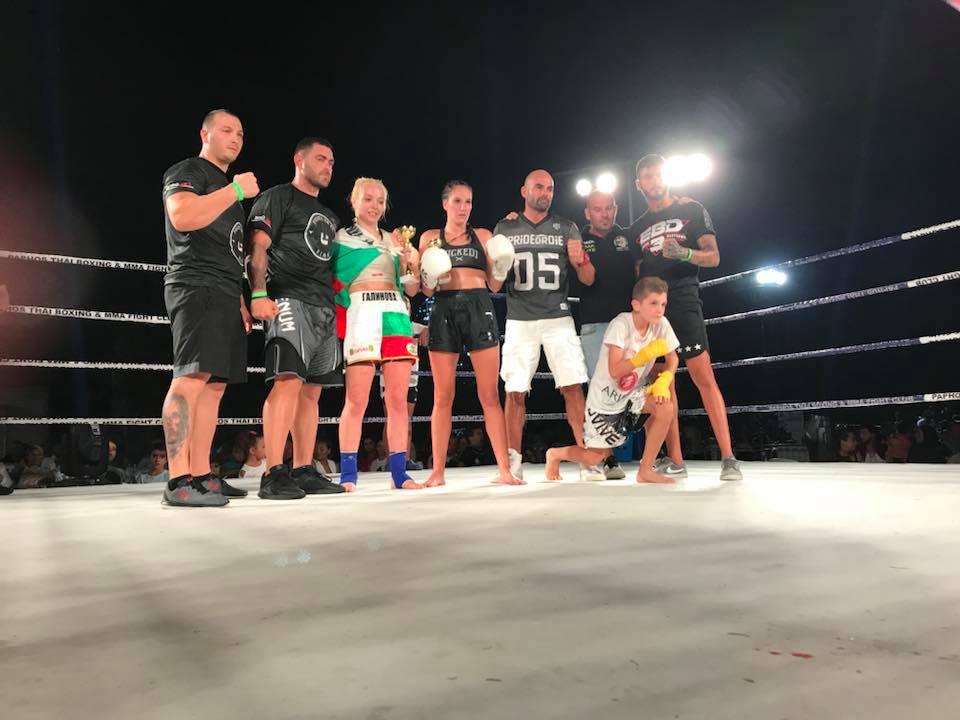 Изключително българско участие на провелата се гала вечер по кикбокс в Кипър