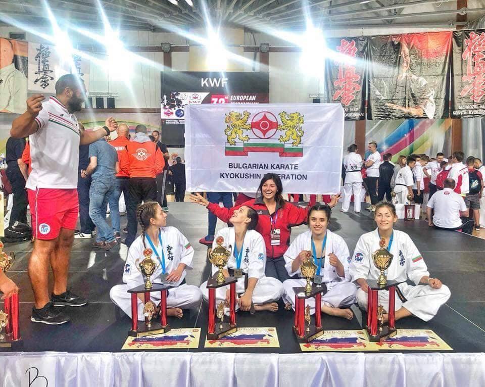 Добрите новини продължават! Три титли и общо девет медала за България от Европейското в Русия