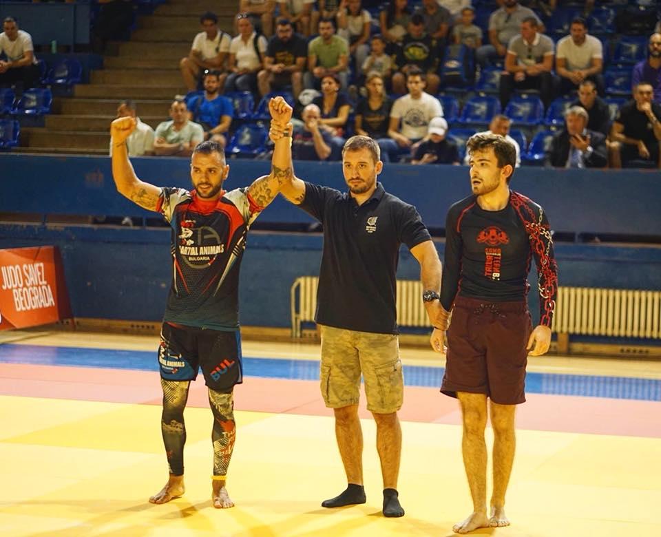 Българин с балканска титла по граплинг