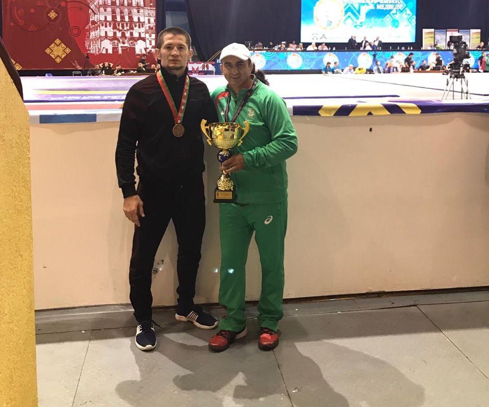 Български национал с бронзов медал в Беларус