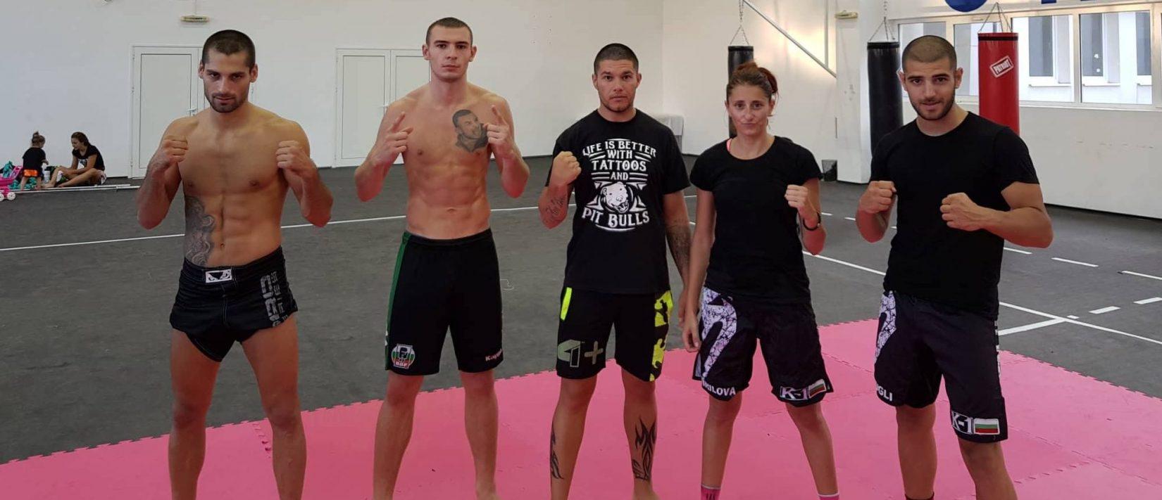 """Четирима състезатели на СК """"Армеец"""" се подготвят за предстоящото Европейско по Муай Тай в Румъния"""