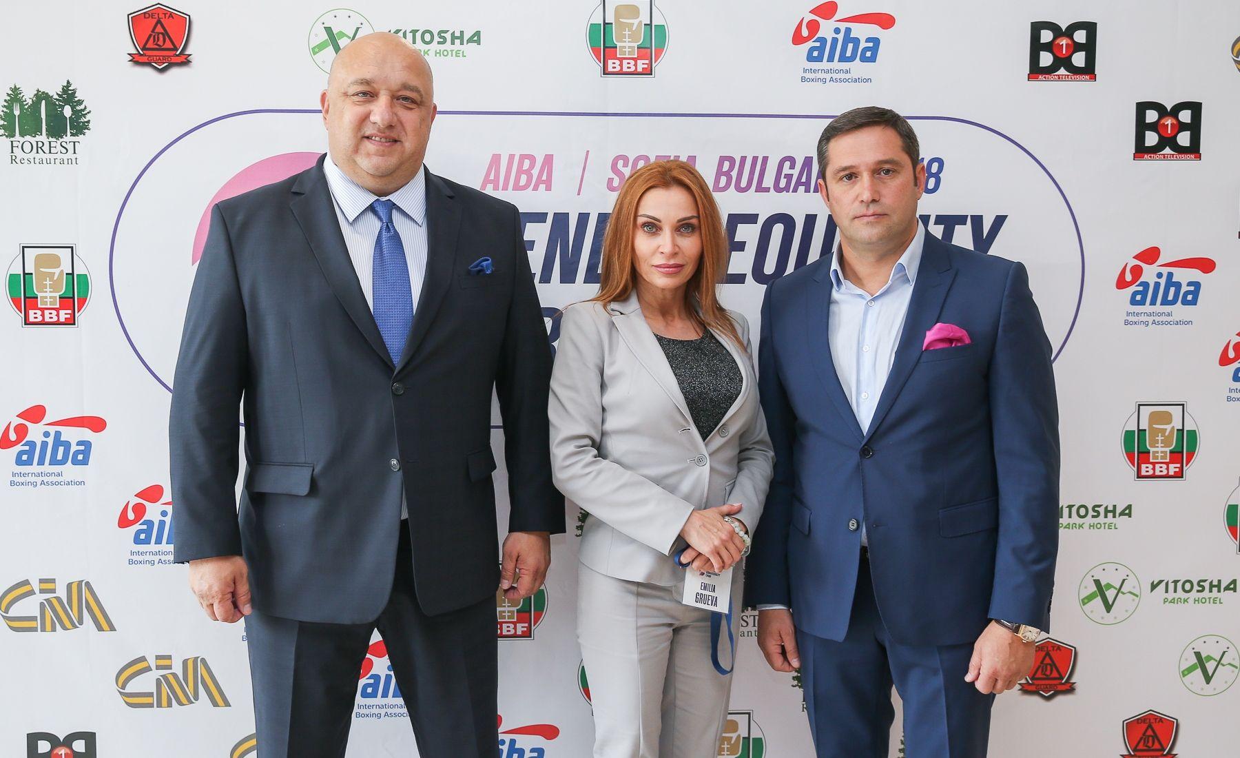 Красен Кралев откри Световния боксов форум в София