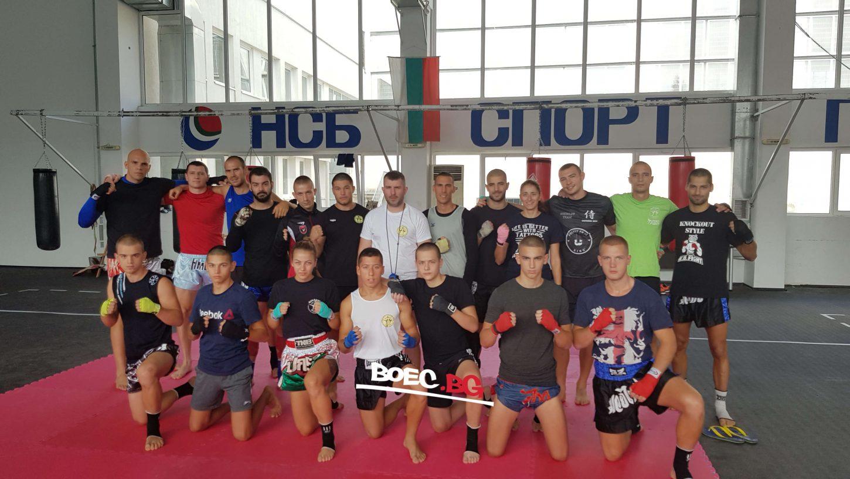 Подготвителен лагер за родните муай тай бойци във Варна