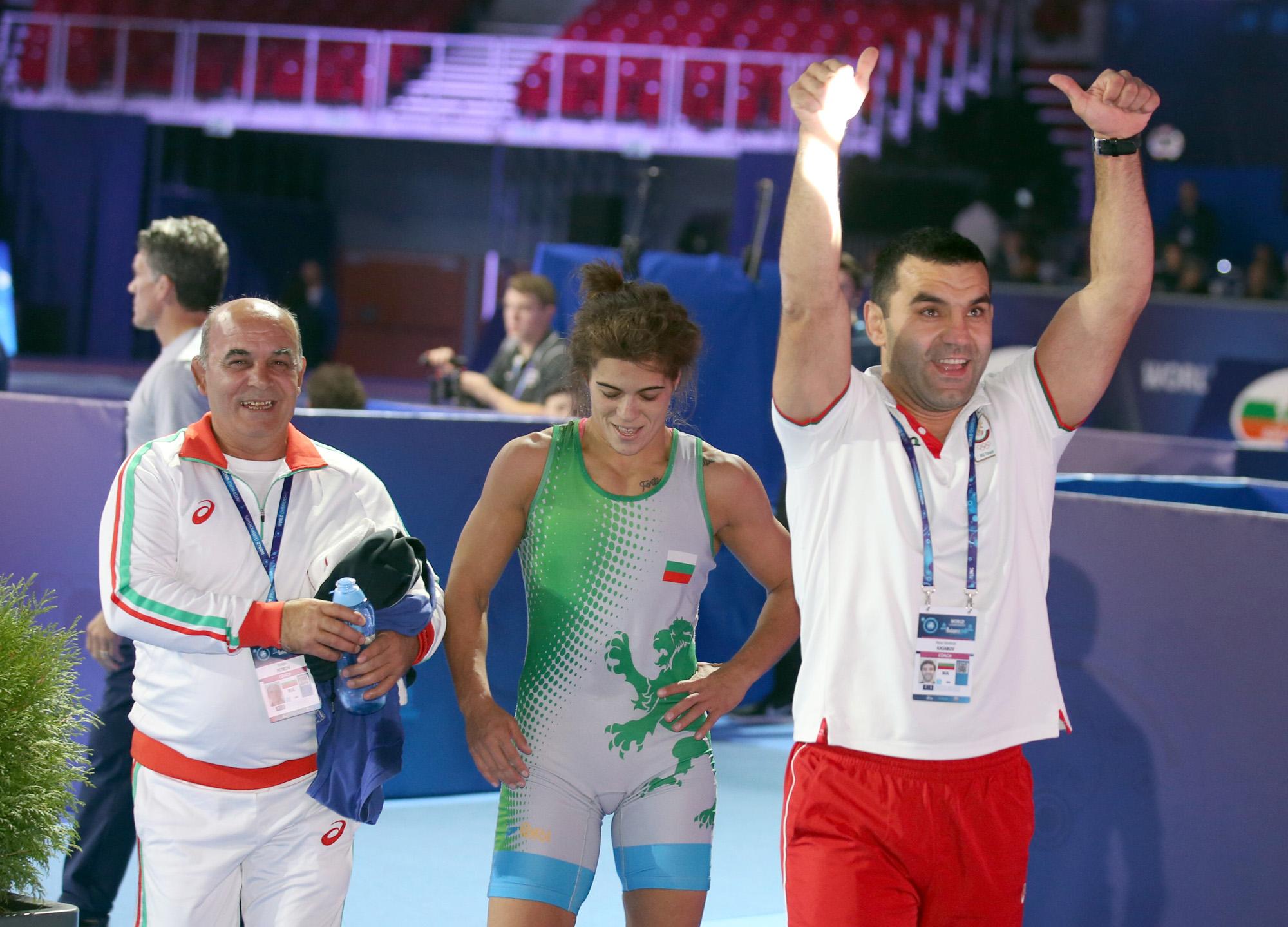 Тайбе Юсеин: Пожелах си два златни медала и се сбъдна