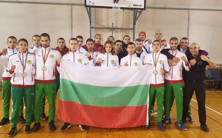 Националите ни по муай тай с 8 златни отличия от Румъния