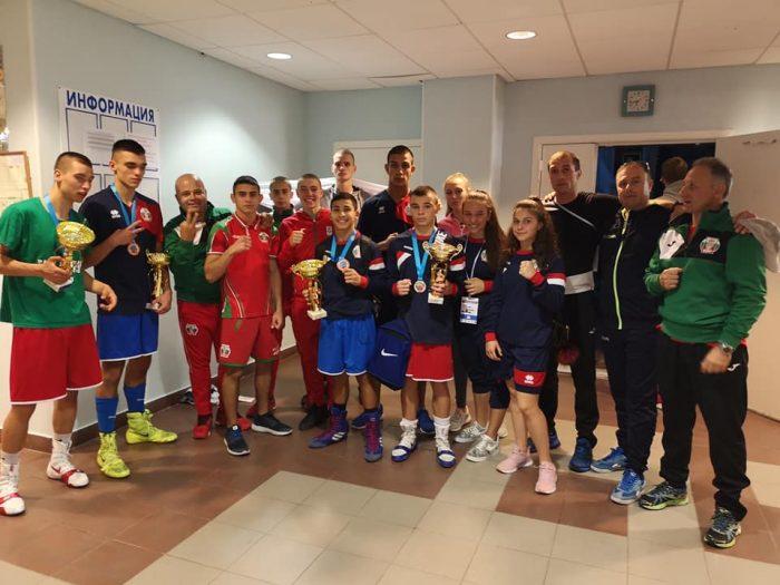3 златни и един сребърен медал за българските боксьори