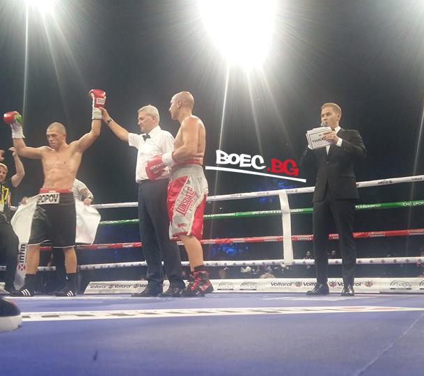 Здравко Попов победи опитен италианец