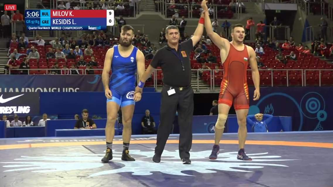 Милов прегази световен шампион и стигна полуфиналите