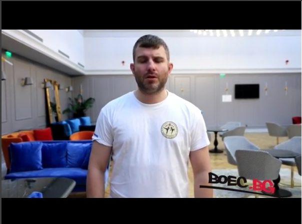 Николай Атанасов пред Boec.BG за семинарa по кикбокс и муай тай (ВИДЕО)