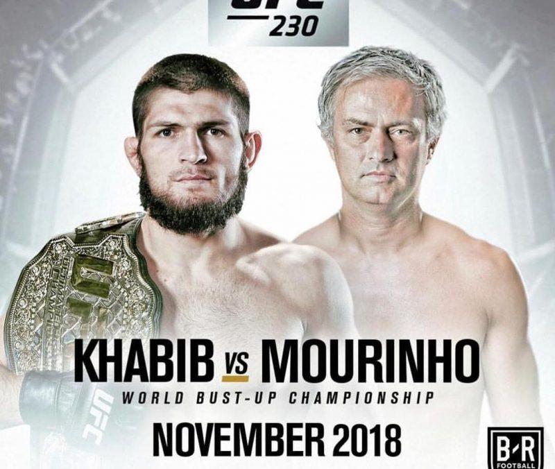 Това вече е интересно: Предлагат на Хабиб да се бие с … Жозе Моуриньо