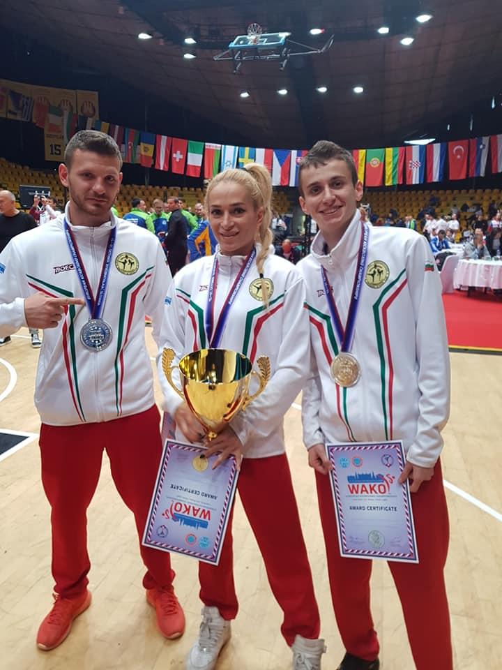 Европейската шампионка по кикбокс Албена Ситнилска: Много щастлив момент!
