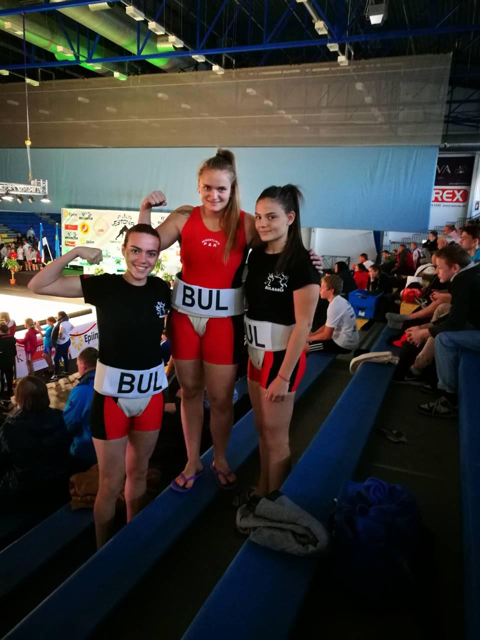 Националките ни по сумо с два медала от Европейското в Естония