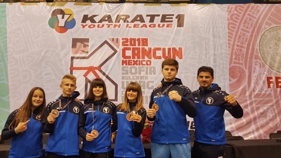Нови медали от Световната карате лига за младежи