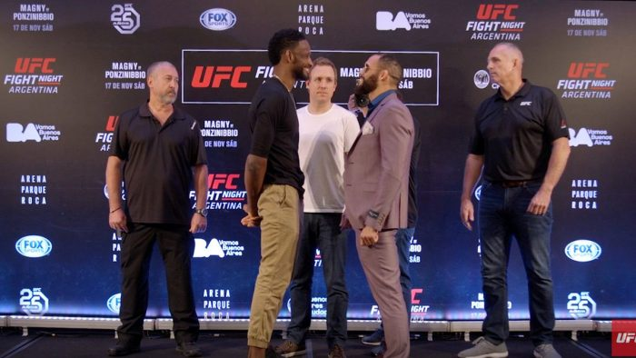 Официалният кантар на UFC Fight Night 140
