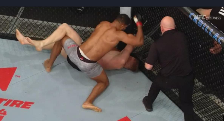 Алистър Овърийм нокаутира дебютант в UFC