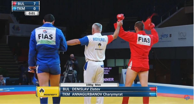 България с първи финалист на Световното по самбо